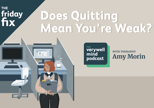 Does quitting mean you're weak