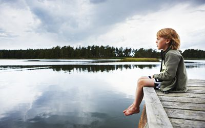 Selective mutism affects children.