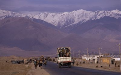 landscape view of Afghanistan
