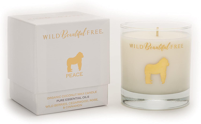 Wild Beautiful Free Organic Aromatherapy Candle