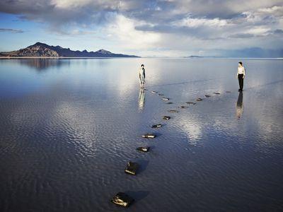 Dream Interpretation: two people walking on water