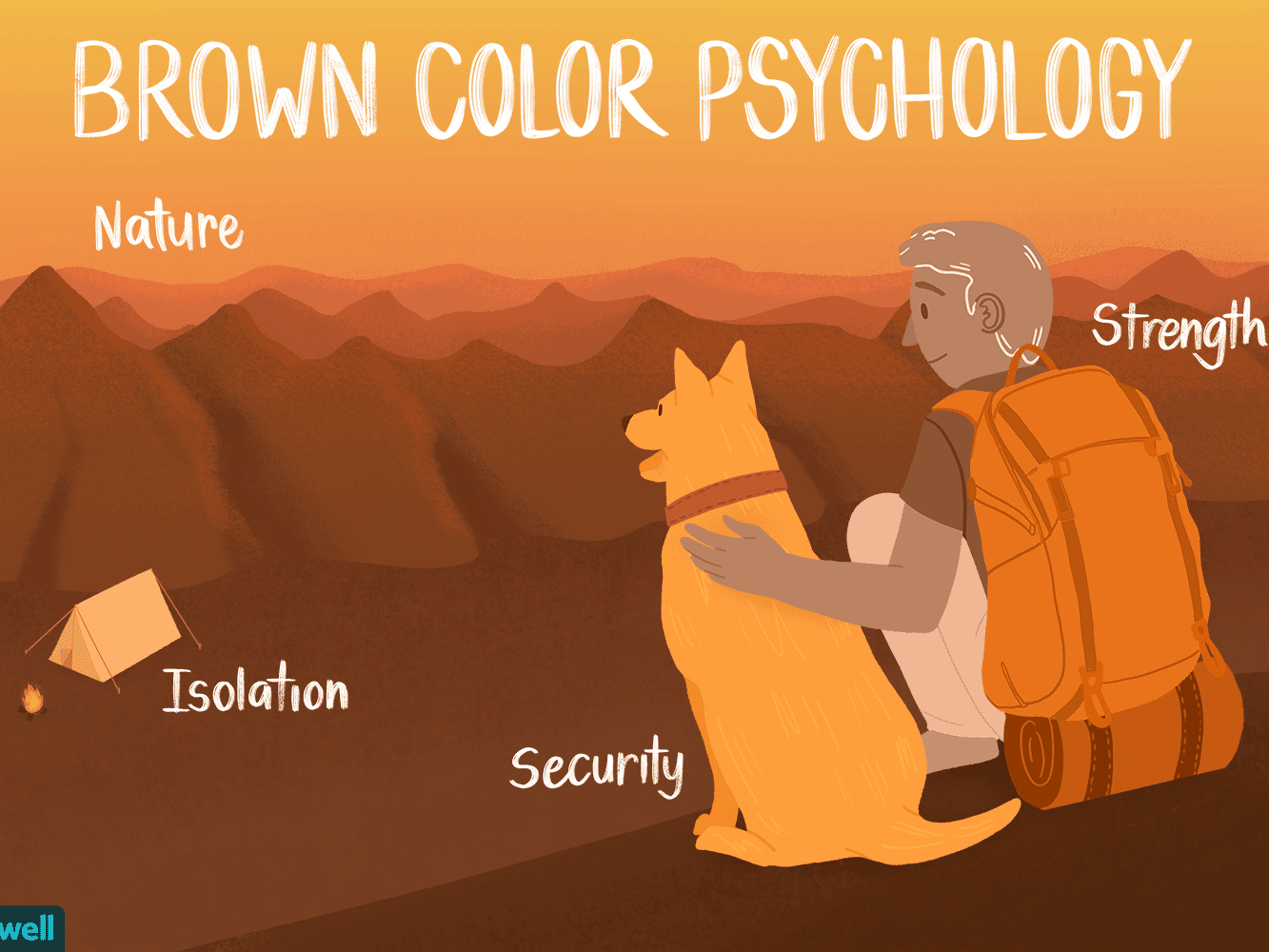 the color psychology of brown the color psychology of brown