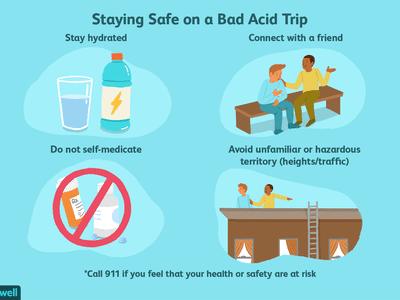 staying safe on a bad acid trip