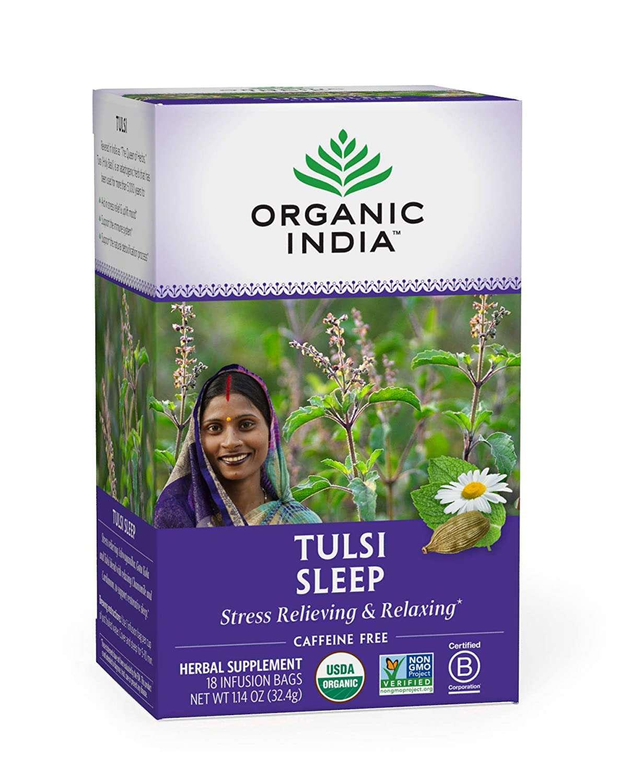 Organic India Tulsi Sleep Herbal Tea