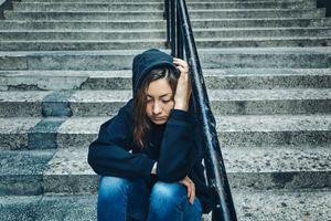 Depressed/Sad girl