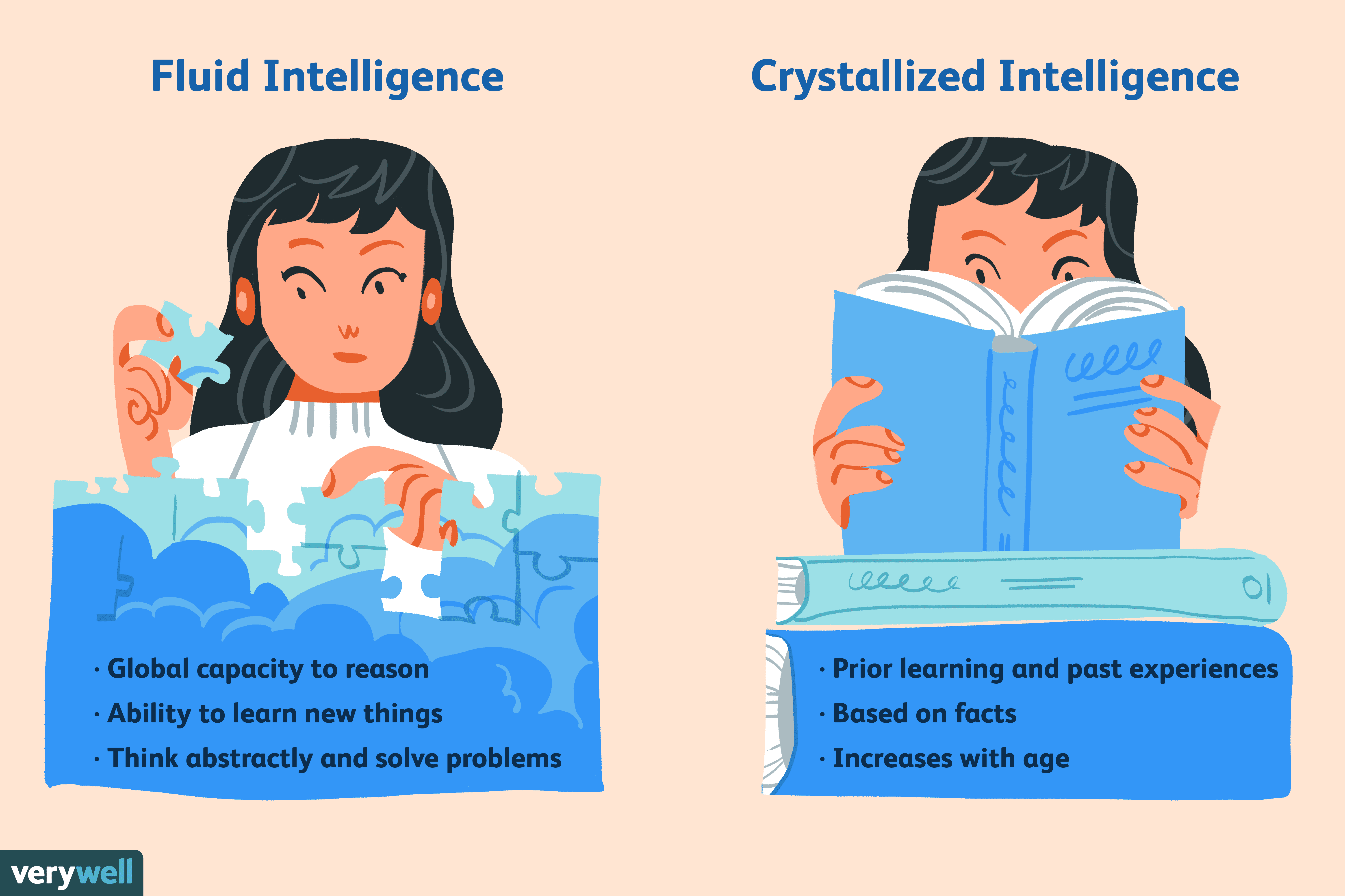 Fluid Intelligence vs  Crystallized Intelligence
