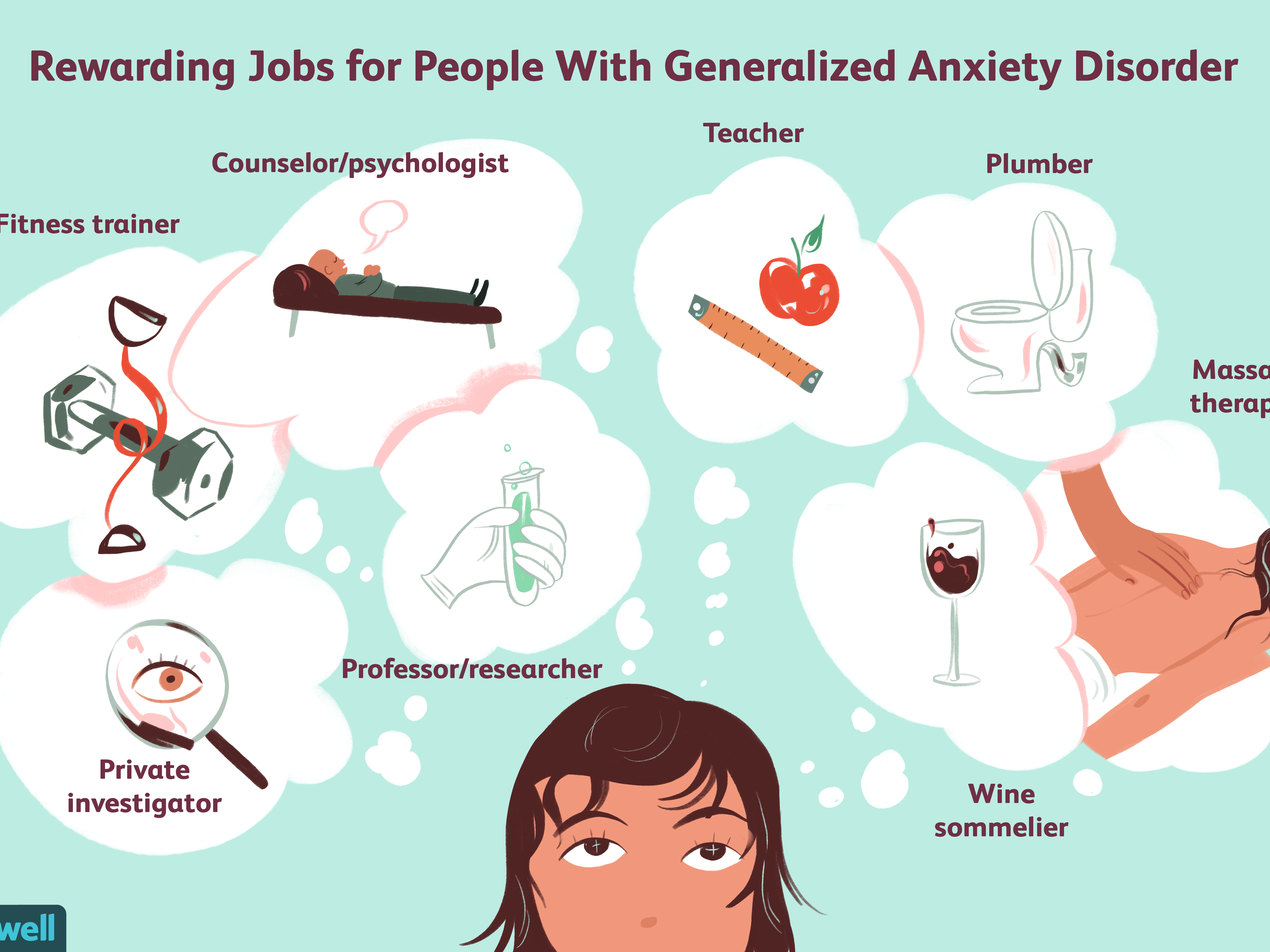 Jobs for People With Generalized Anxiety Disorder