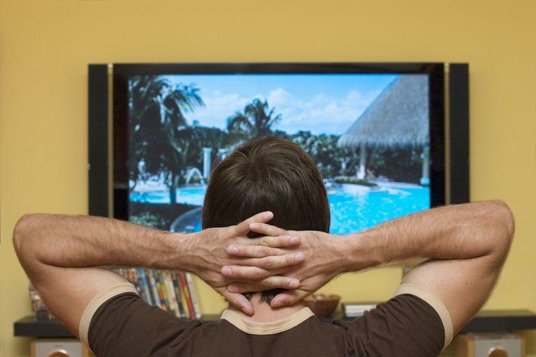 TV addict escapes in to fantasy world