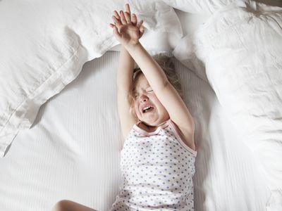 Child having a night terror