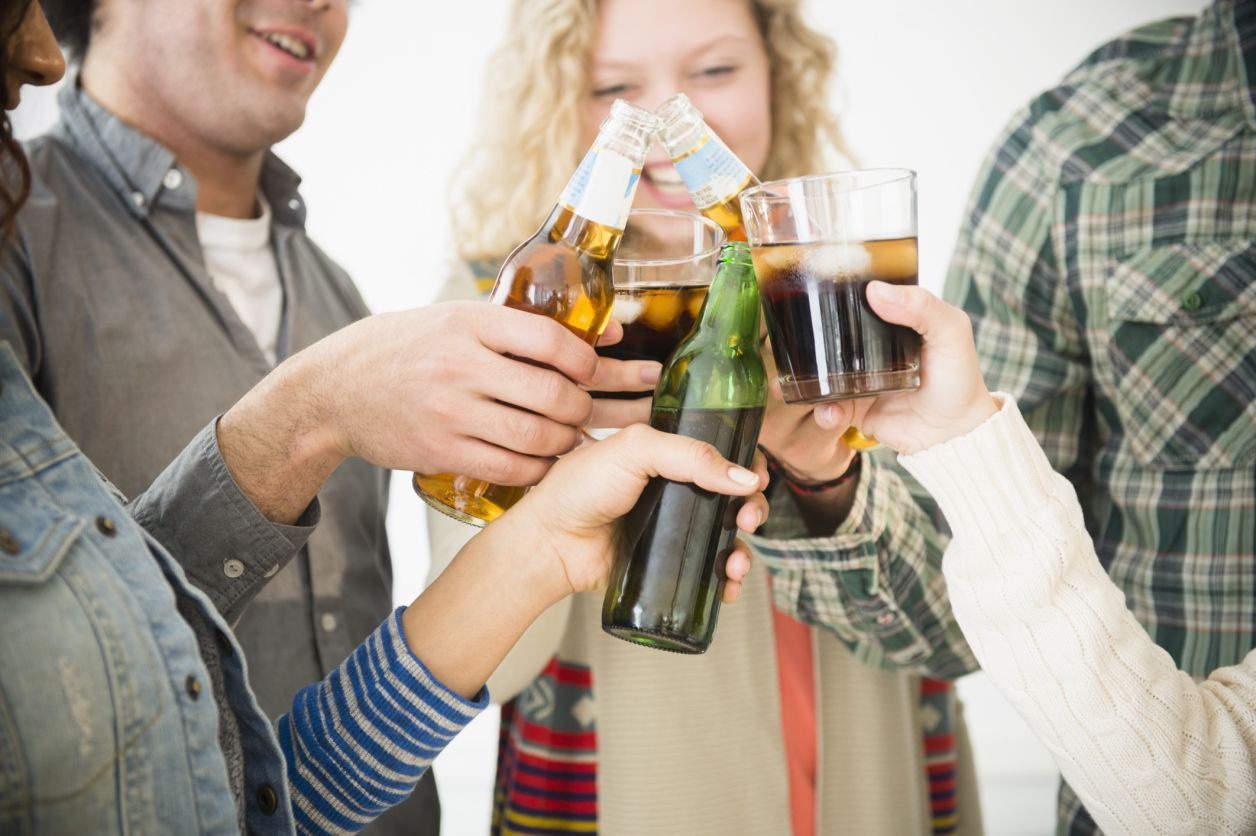 drinking alcohol at 18 must be legal You can be stopped, fined or arrested by police if you're under 18 and drinking alcohol in public if you're under 18, it's against the law: for someone to sell you alcohol to buy or try to.