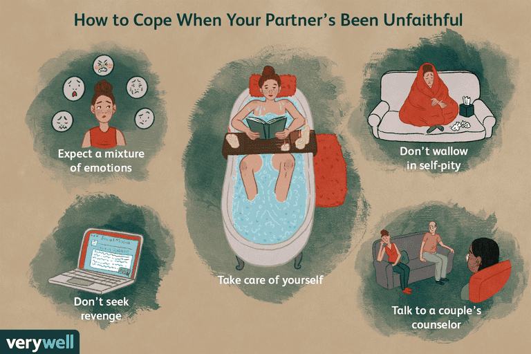 8 Tips for Coping When Your Partner Is Unfaithful