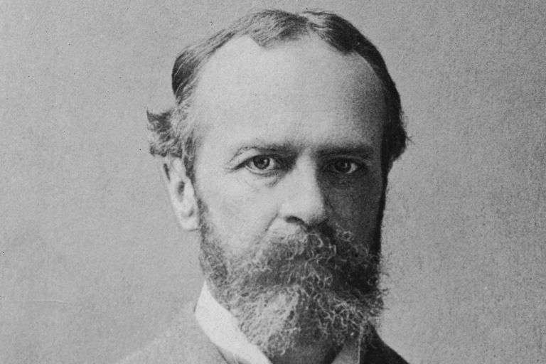 William James Portrait