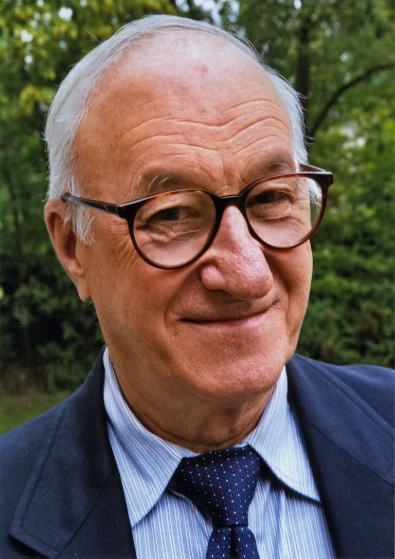Albert Bandura portrait from 2005