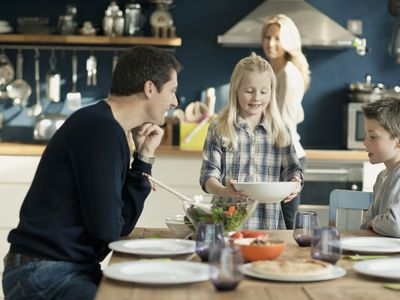 Family Dinner Table