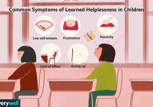 Symptoms of learned helplessness in children