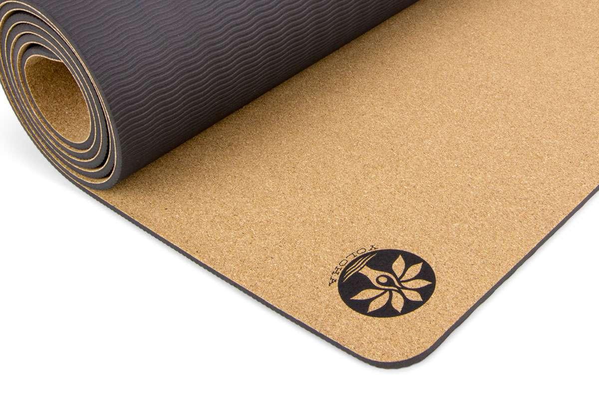 Mountain Magic Aura Cork Yoga Mat