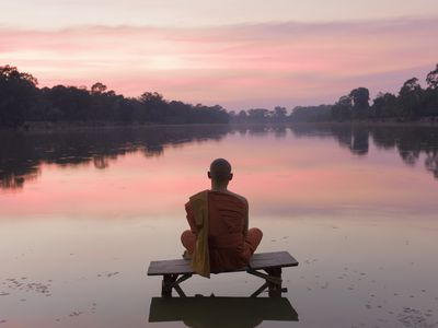 Zen meditation can help you access your unconscious mind.