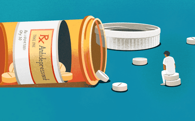 Why antidepressants stop working