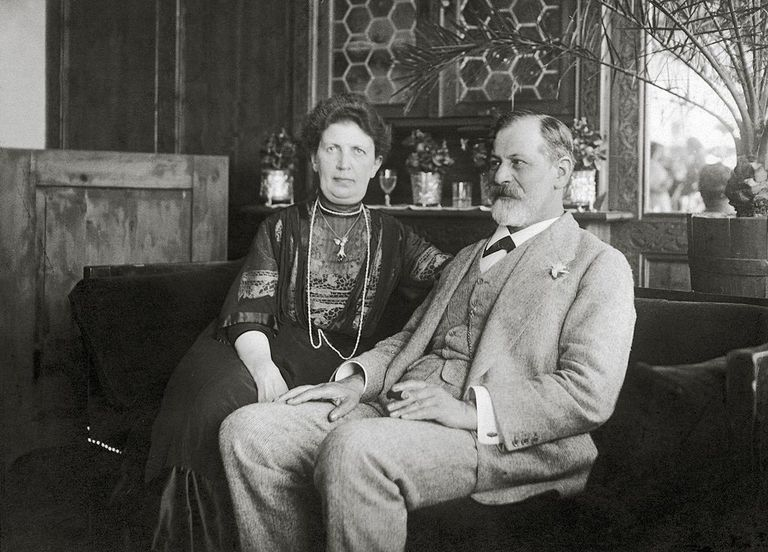 Sigmund Freud and Martha Freud