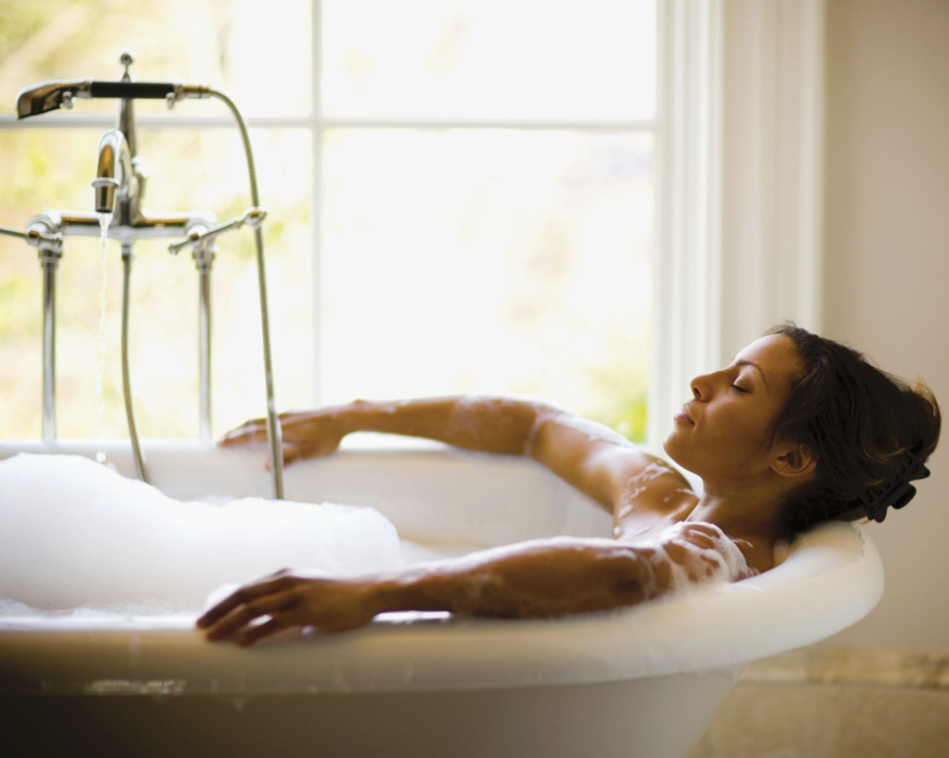 Bathtub meditation skills