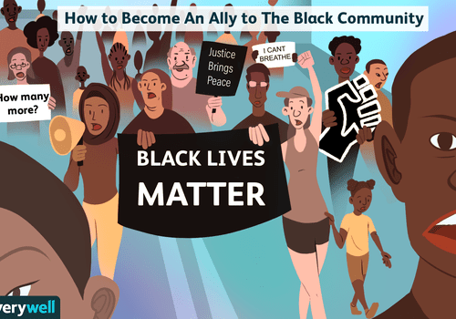 how to become an ally to the black community