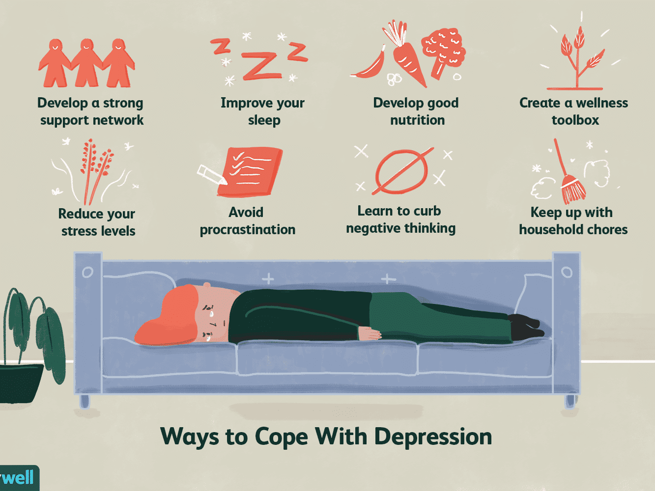 Overcome depression to steps 10 tips