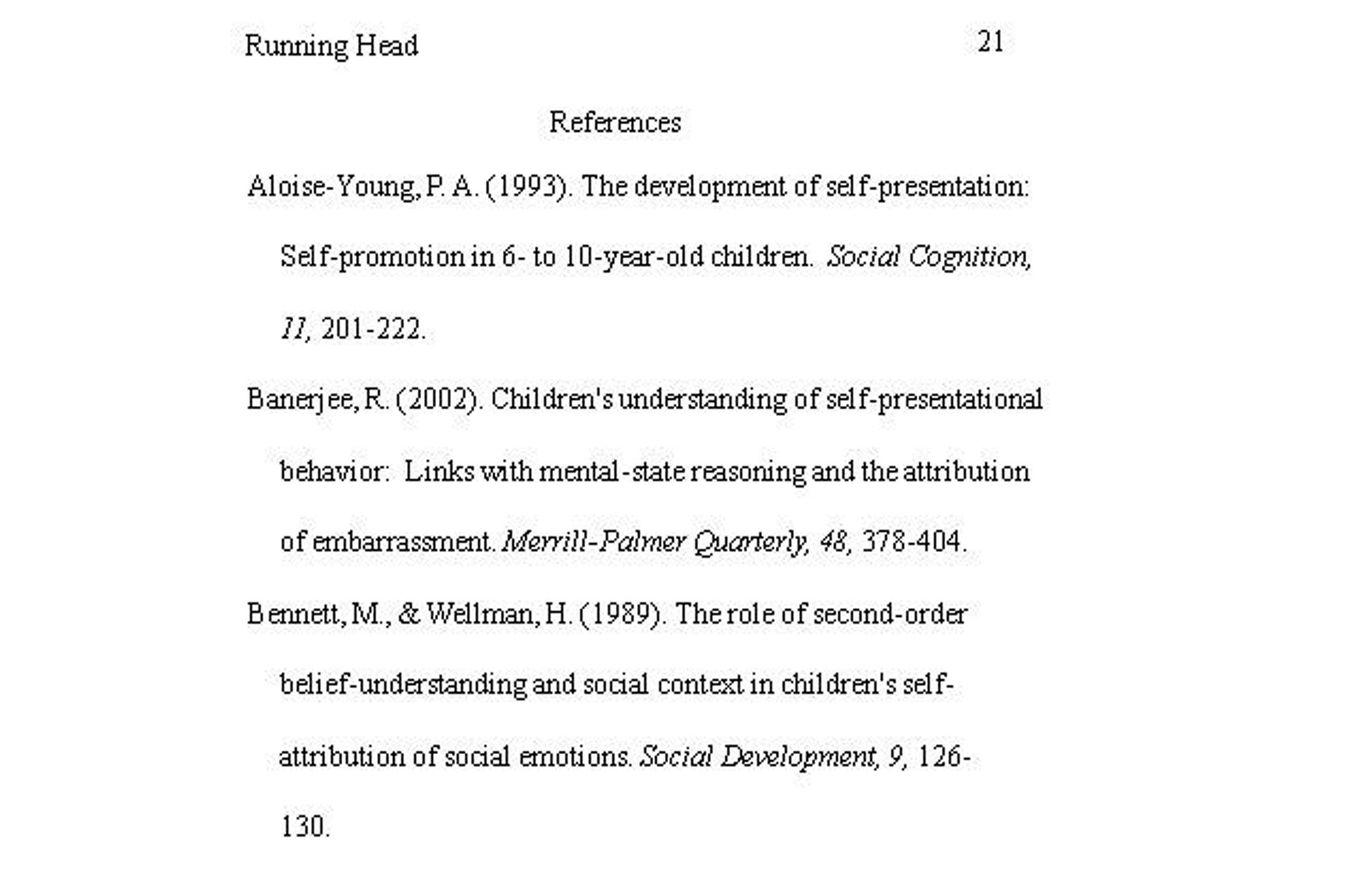 example of a paper written in apa format