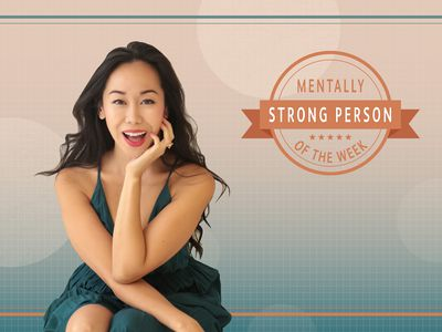 Amy Chan is the mentally strong person of the week.