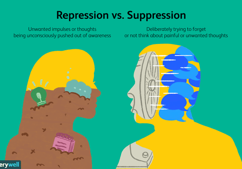repression vs. suppression