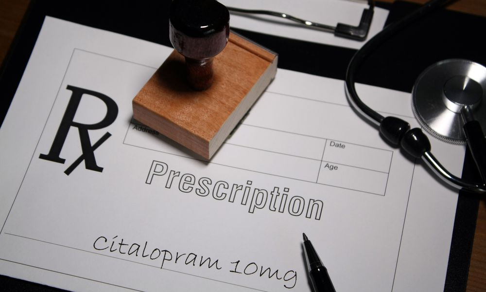 doctor's prescription for citalopram