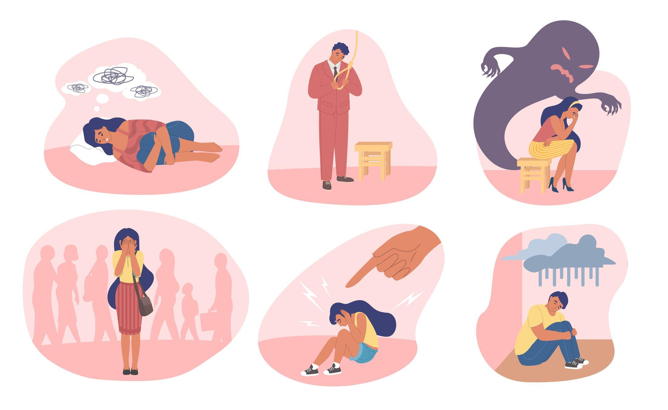 Various mental health disorders