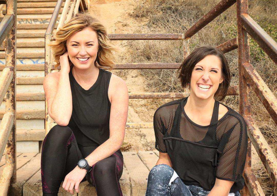 Lindsay Clayton and Amber Rees