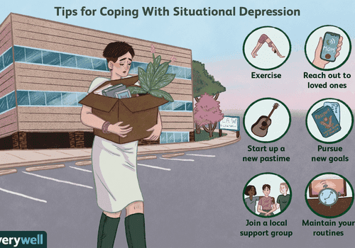 Tips for coping with situational depression
