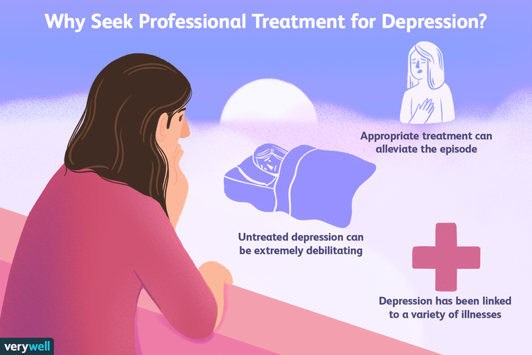 Why Seek Professional Treatment for Depression?