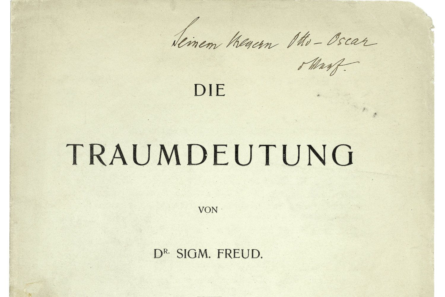 the story of oedipus and the interpretation of sigmund freud Sigmund freud and the oedipus complex sigmund freud (may 6, 1856-september 23, 1939) was an austrian neurologist  and the co-founder of the psychoanalytic school of psychology.