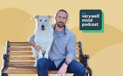 Craig Grossi and Fred, episode 64 of The Verywell Mind Podcast