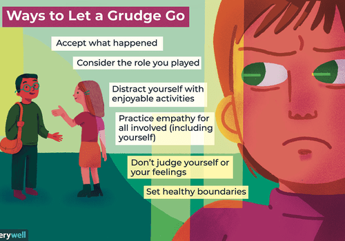 Ways to let a grudge go