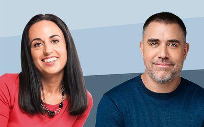 Amy Morin and Mike Bayer
