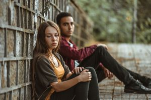 couple having relationship issues
