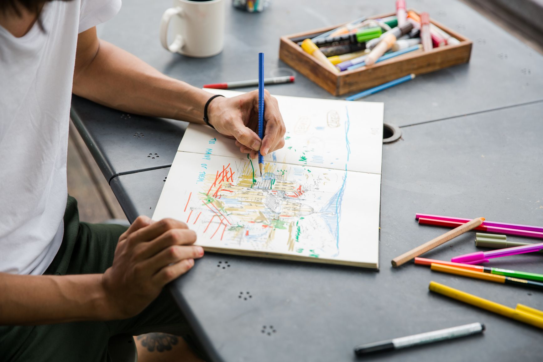 How to Relieve Stress With Art Therapy