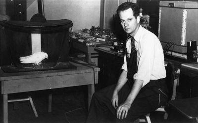 B.F. Skinner in 1948