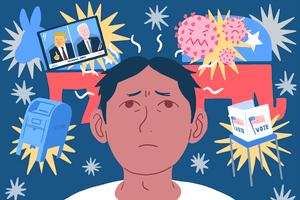 election stress illo