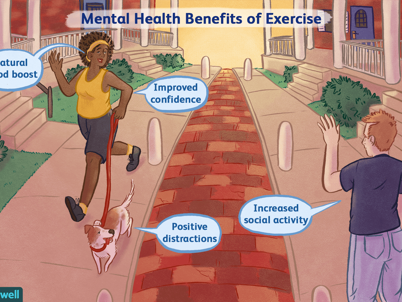 How Physical Exercise Benefits Mental Health