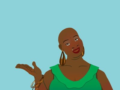 Illustration of Sonya Renee Taylor, poet and activist