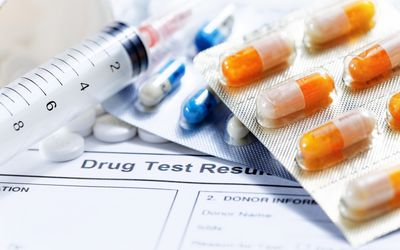 Syringe and Pills