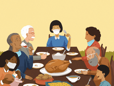 How to navigate difficult thanksgiving conversations