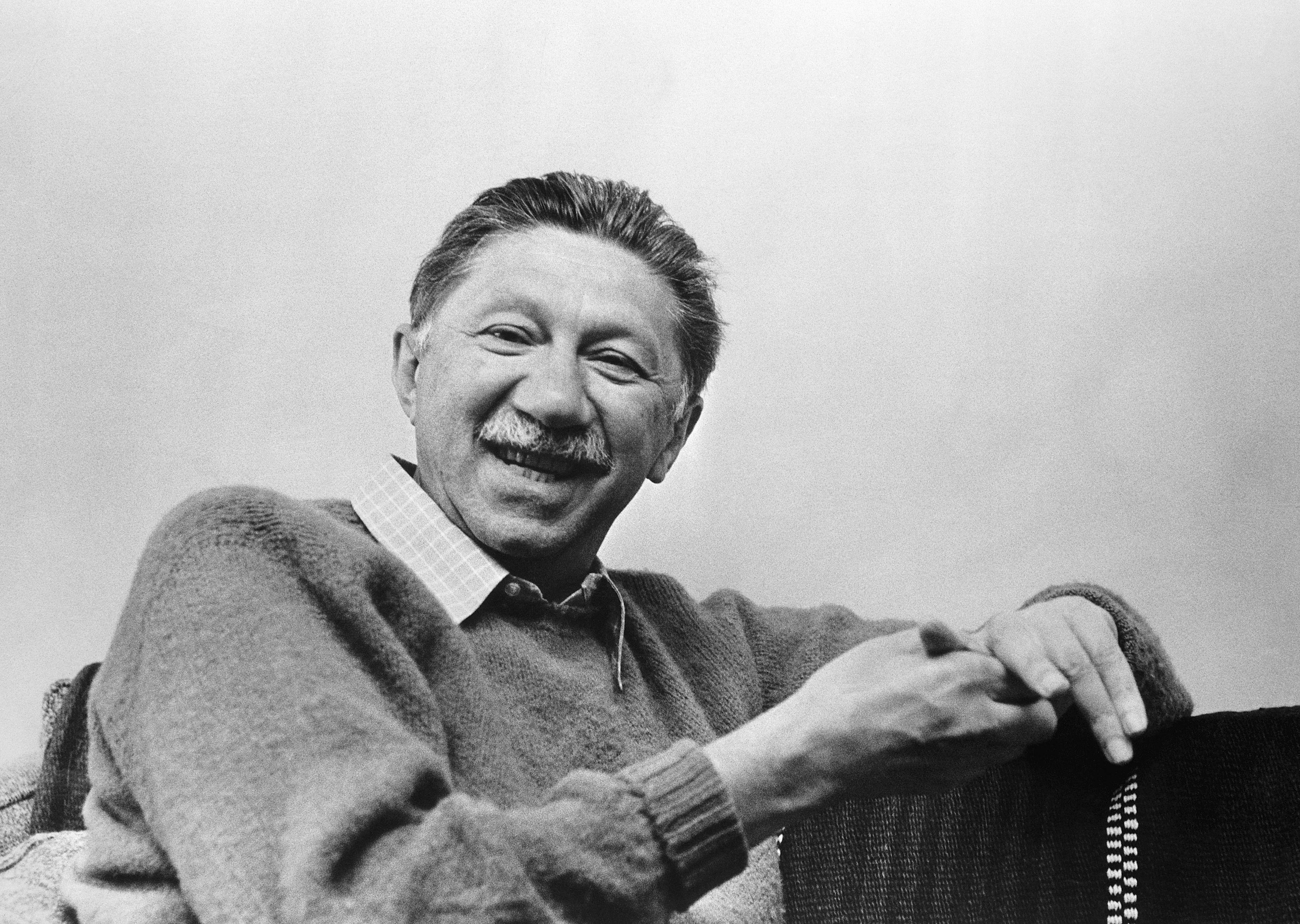 Abraham Maslow smiling
