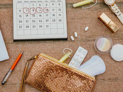 Menstrual products calendar