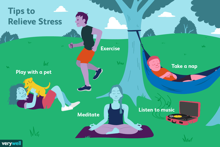 Stress Relievers 70 Ways To Reduce