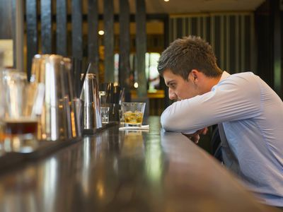 Alcoholism may be difficult to overcome is social anxiety is also a problem.